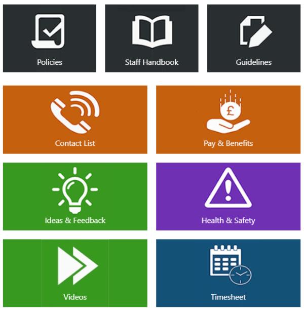 SharePoint Online Tiles web part
