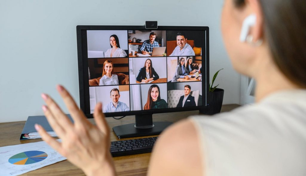 online meeting using MS Teams and SharePoint intranet